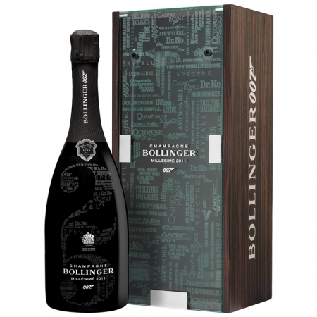 Bollinger 007 Bond Limited Edition Millesime Champagne