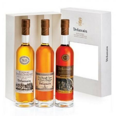 Delamain Trio Cognac (3 x 20cl)